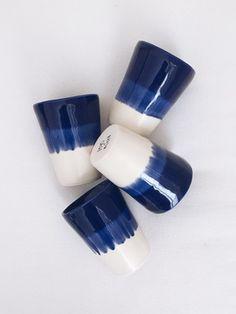 beautiful indigo ceramics