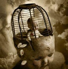 "Saatchi Online Artist Thomas Francisco; Photography, ""Bird in a Cage"" #art"