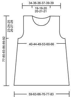 """DROPS 108-32 - DROPS tunika """"Lin""""-langasta. Koot S-XXXL. - Free pattern by DROPS Design"""