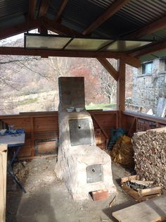 home made kiln
