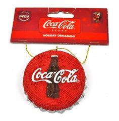 Coca-Cola USA Decorazione albero natale Ornamento Coca Cola Tappo bottiglia…