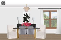 With Havenly, you'll have a fun, easy and budget-friendly online interior design experience. Dining Table, Decor Ideas, Layout, Interior Design, Room, House, Inspiration, Furniture, Home Decor