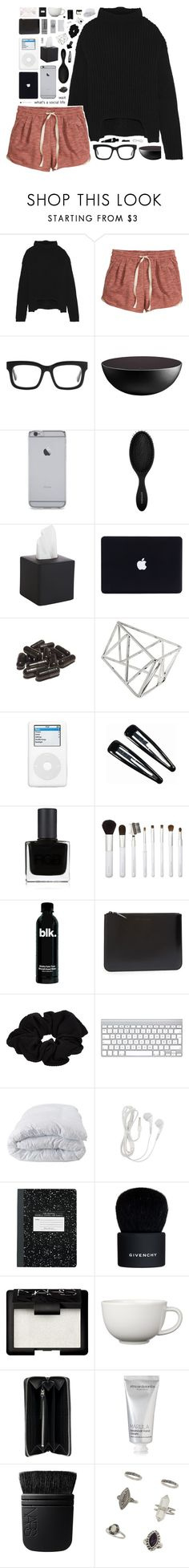 """1014"" by glitterals ❤ liked on Polyvore featuring Rick Owens, H&M, STELLA McCARTNEY, Sephora Collection, CB2, Topshop, Clips, RGB Cosmetics, Sonia Kashuk and Comme des Garçons"