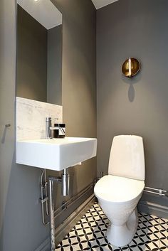 Advice, formulas, furthermore quick guide beneficial to getting the greatest end result and also making the maximum perusal of Cheap Bathroom Remodel Bathroom Inspo, Bathroom Colors, Bathroom Inspiration, Small Bathroom, Guest Toilet, Downstairs Toilet, Small Toilet, Cheap Bathroom Remodel, Toilet Room