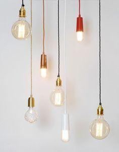 Danlamp Edison Squirrel Cage Light Bulb