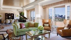 Presidential Suite West at Four Seasons Los Angeles at Beverly Hills