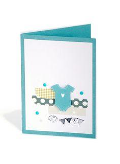 3 Cartes Baby Boy - Création Sixtine Thomas-Richard pour Toga - tutoriel DIY