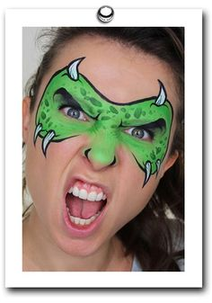 Monster by Mimicks Face Painting