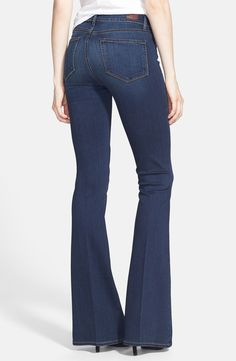 Paige Denim 'Transcend - Canyon' High Rise Bell Bottom Jeans (Nottingham)