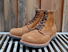 LIFE TIME GEAR: LTG BOOT & SHOE COLLECTION | 24 | THE REAL McCOY'S FIELD SHOES N-1