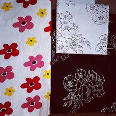 Květinové látky 🌻🌼...floral fabrics #sitotisk #sitotiskem #printandpattern #printlife #printoftheday #printdesigner #printsofinstagram… My Arts