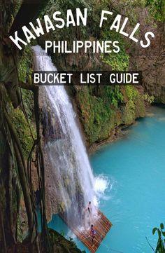 Kawasan Falls – Badian, Philippines