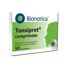 Tonsipret, 50 comprimate, Bionorica :  Farmacia Tei 50th, Facial, Personal Care, Flu, Pharmacy, Facial Treatment, Self Care, Facial Care, Personal Hygiene