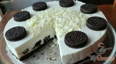 Oreo cheesecake without baking, prepared in 30 minutes - Germany Rezepte Ideen Oreo Cheesecake, Cheesecake Recipes, Oreo Biscuits, No Bake Treats, Oreo Cookies, Food Cakes, Diy Food, No Cook Meals, No Bake Oreo Cake