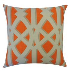 Jiti Crossroads Cotton Throw Pillow & Reviews | Wayfair