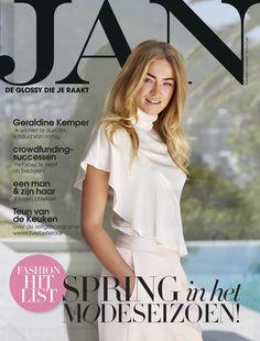 Geraldine Kemper   Cover JAN Magazine 3-2016   Photo by Roger Neve