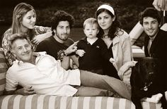Dustin Hoffman and his kids