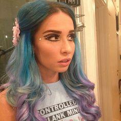 Rebecca - dans dakar make up (and new hair color!)