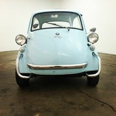 1958 BMW Isetta!  Very presentable little weekend driver.