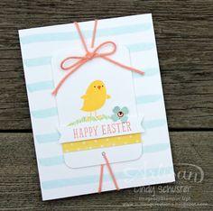 nutmeg creations: Easter for Peeps' Sake - Stampin' UP Artisan Blog Hop