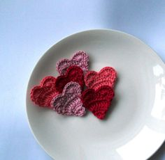 Crochet Heart Pattern - Free Crochet Heart Patterns | handmadeables
