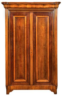 French Monumental Neogothique Charles X Inlaid Armoire #antiques #furniture