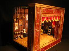 LANCE CARDINAL: Scratch Built Muppet Theatre Playset