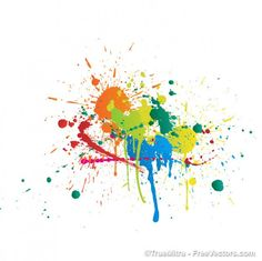 Alfa img - Showing > Paint Splashes Background for Summer Paint Splash Background, Paint Strokes, Colorful Paintings, Abstract Backgrounds, Wall Design, Design Projects, Dream Catcher, Vector Free, Stencils