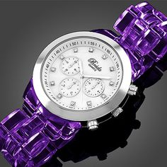 Love funky watches.  They also have this in a cute pink.
