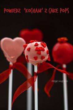 Walentynkowe cake pops. Prezent idealny dla Twojej drugiej połówki #walentynki #cakepops #intermarche