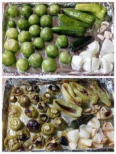 Salsa Verde - great for salads, dips, and sides! Fingerfood Recipes, Appetizer Recipes, Mexican Appetizers, Halloween Appetizers, Delicious Appetizers, Avacado Appetizers, Prociutto Appetizers, Elegant Appetizers, Cheese Appetizers