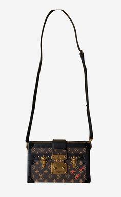 Louis Vuitton Monogram Petite Malle Handbag | VAUNTE