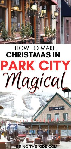 Christmas in Park City is absolutely magical. We're sharing the best Christmas events in Park City, and the best things to do to make your Park City Christmas PERFECT! Christmas Events, Christmas Travel, Christmas Vacation, Christmas Fun, Christmas Trips, Christmas Destinations, Park City Mountain, Park City Utah, City Resort