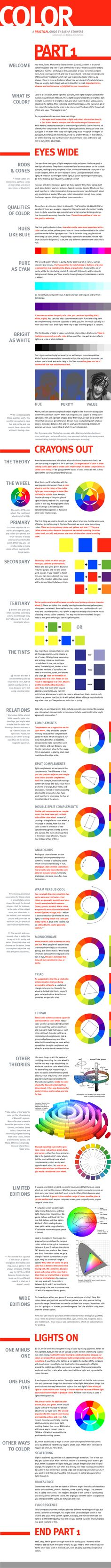 The Color Tutorial - Part 1 by sashas on DeviantArt