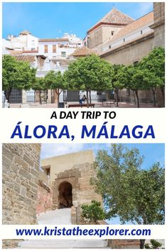 Málaga is situated in the perfect location to explore more of southern Spain. A day trip to Álora is a must if you love Spanish white villages and visiting unique destinations. It's definitely a hidden gem near Málaga and is worth taking a day trip from Málaga to. This blog post covers what to do in Álora, things to see in Álora, day trips from Málaga, unique places near Málaga, and white villages in Andalucía. #malaga #alora #castles #whitevillage #pueblosblancos # travel #travelblogger #spain