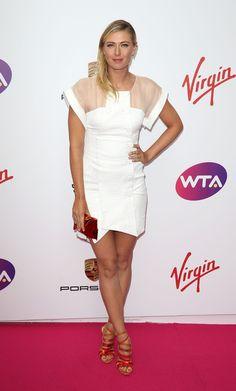 Maria Sharapova Photos: WTA Pre-Wimbledon Party. Maria Sharapova attends the WTA Pre-Wimbledon party at Kensington Roof Gardens on June 19, 2014 in London, England.
