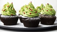 These little cupcakes are a sweet and healthy, festive indulgence.