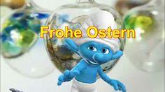 Ostern Viele bunte Ostereier.... Schlumpf der Schlümpfe von Zoobe deutsch