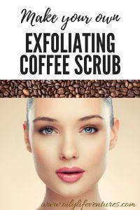 #DIY Coffee Exfoliating Face Scrub // Oily Life Ventures