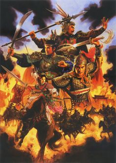 Heroes of the War of the Three Kingdoms, China