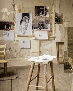 A converted schoolhouse, this is the primary studio of Andrew Wyeth, in continual use from 1940 until shortly before the artist's death in January, 2009. The studio is the center of Wyeth's Pennsylvania world, the rich microcosm that inspired and nourished his art.