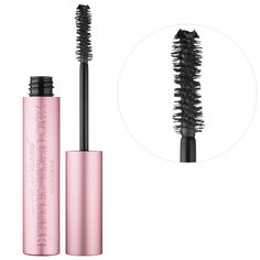 What it is: An intensely black, volumizing mascara with an hourglass-shaped brush that separates, coats, and curls each lash to voluptuous perfection.  What it does: Inspired by the curves of a woman's body, the hourglass-shaped brush was designed wi