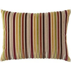 Warm Velvet Stripe Pillow