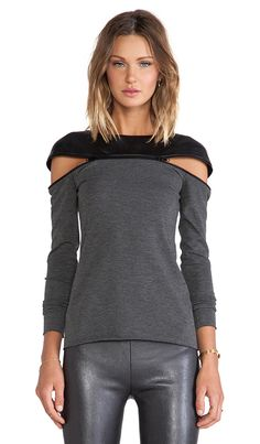 Bailey 44 Anxiety Top in Grey