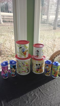 Disney Canisters and Tumblers
