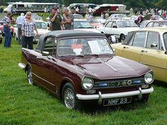 Vintage Car - Triumph Herald [NMF 23] 110710 Leighton Hall