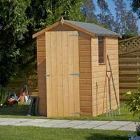 6X4 Apex Shiplap Wooden Shed with Assembly Service 482.00