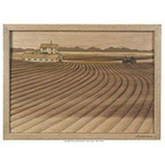Farm Land Intarsia Pattern