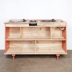 Un meuble hifi design sur-mesure, Atelier sauvage - Marie Claire Maison