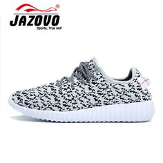 2016 Jazovo Running Shoes Man Breathable Sports Shoes Outdoor Running Sneakers white Walking Shoes yeezy trainers 36-46 #men, #hats, #watches, #belts, #fashion